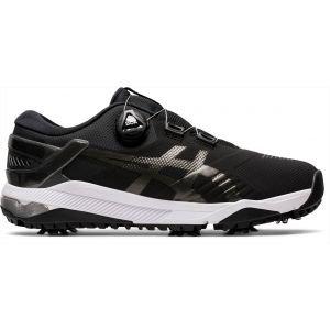 Asics Gel Course Duo Boa Golf Shoes Black/Gunmetal