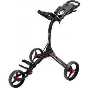 Bag Boy C3 Push Cart - BLACK/RED