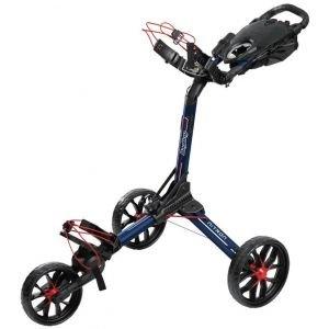 Bag Boy Nitron Auto-Open Push Cart Graphite Charcoal
