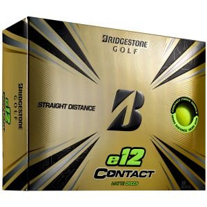 Bridgestone e12 CONTACT Matte Green Golf Balls