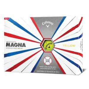 Callaway Supersoft Magna Golf Balls Yellow