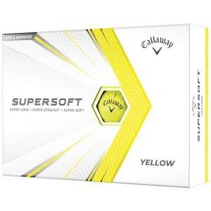 2021 Callaway Supersoft Yellow Golf Balls