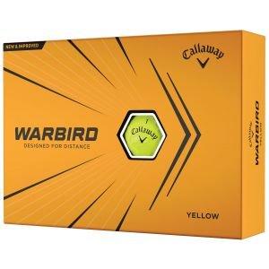 2021 Callaway Warbird Yellow Golf Balls