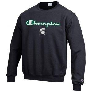 Champion Michigan State Spartans Fleece Crew Sweatshirt