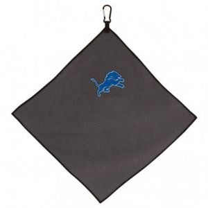 Detroit Lions Grey Microfiber Golf Towel