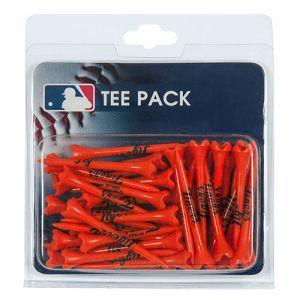 Detroit Tigers Golf Tees Orange