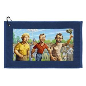 Devant David O'Keefe Caddyshack Golf Towel - Carl Spackler