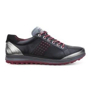 Ecco BIOM Hybrid 2 Golf Shoes Black/Brick - ON SALE