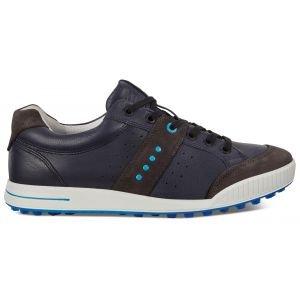 Ecco Original Street Retro Golf Shoes Moonless/Marine/Danube