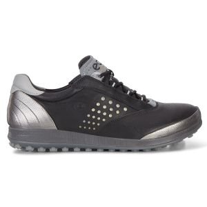 Ecco Womens BIOM Hybrid 2 Spikeless Golf Shoes - Black