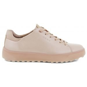 ECCO Women's Tray Laced Golf Shoes Rose Pearl