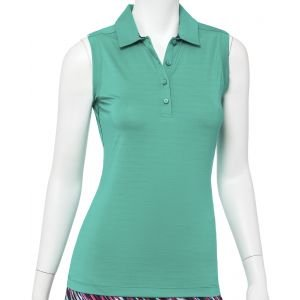 EPNY Women's Contrast Piping Golf Polo