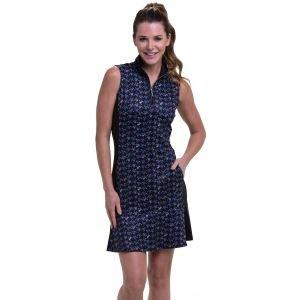 EPNY Womens Multi Arrowhead Houndstooth Print Golf Dress