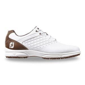 FootJoy Arc SL Golf Shoes White/Brown - 59706