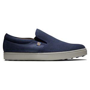 FootJoy Club Casual Slip-On Golf Shoes Navy/Blue
