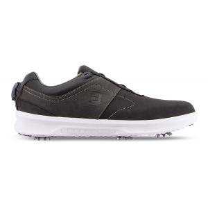FootJoy Contour Series BOA Golf Shoes 2020 Black/Charcoal - 54186