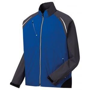 FootJoy Dryjoys Select Golf Rain Jacket Blue/Charcoal - 35366