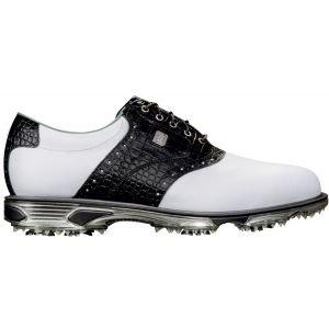 Footjoy Dryjoys Tour Golf Shoes 53610 Mens White/Black