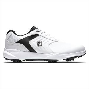 FootJoy eCOMFORT Golf Shoes White/Black 2020