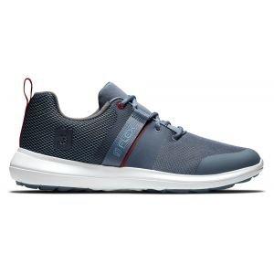 FootJoy Flex Golf Shoes Slate/Red 56122