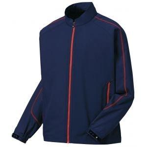 FootJoy Full-Zip Sport Golf Windshirt Navy/Red 32643