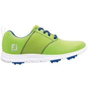 FootJoy Junior Girls Enjoy Golf Shoes Lime Green - 48208