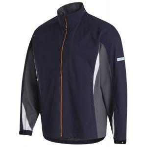 FootJoy Hydrolite Golf Rain Jacket Charcoal/Navy/Orange 35384
