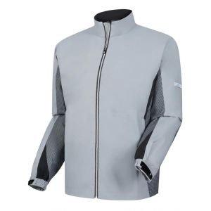 FootJoy Hydrolite Golf Rain Jacket Grey/Navy Houndstooth - 23772