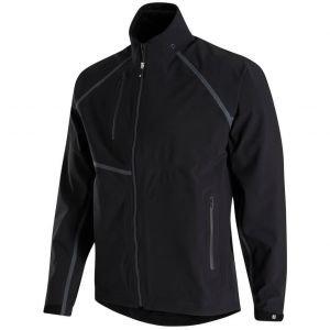 FootJoy HydroTour Golf Rain Jacket Black/Charcoal 35379