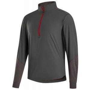 FootJoy HyperFlex Golf Pullover Charcoal/Heather Charcoal 25268
