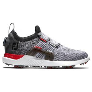 FootJoy HyperFlex Boa Golf Shoes Grey/Red