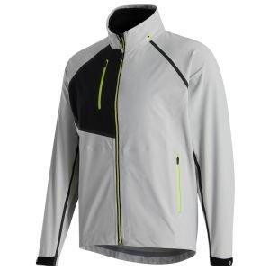 FootJoy HydroTour Golf Rain Jacket Silver/Black/Lime 32676
