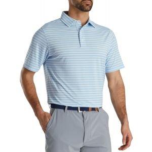 FootJoy Lisle 2 Color Stripe Self Collar Golf Polo