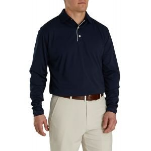 FootJoy Long Sleeve Sun Protection Golf Shirt Navy 26234