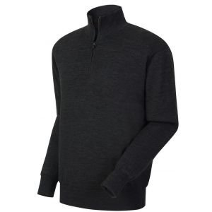 FootJoy Mens Performance Lined Sweater Charcoal - 33814