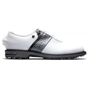 FootJoy Premiere Series Packard Boa Golf Shoes White/Black/Grey