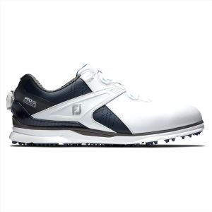 FootJoy Pro/SL Carbon Boa Golf Shoes White/Navy/Carbon