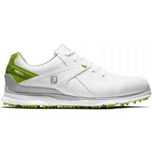 FootJoy PRO/SL Golf Shoes 2020 - White/Lime 53805