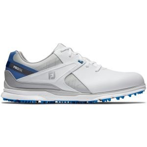 FootJoy PRO/SL Golf Shoes 2020 - White/Blue/Grey 53811