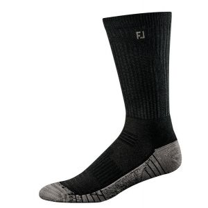 Footjoy Techsof Tour Crew Sock Black 17220