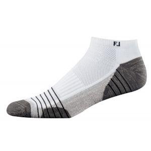 Footjoy Mens Techsof Tour Low Cut Socks White 17509