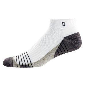 Footjoy Mens Techsof Tour Sport Sock XL White