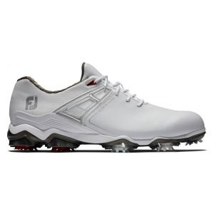 FootJoy Tour X Golf Shoes 2020 - White/Red 55403