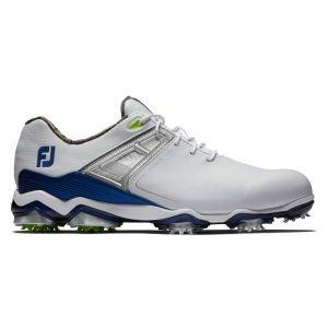 FootJoy Tour X Golf Shoes White/Navy 2020