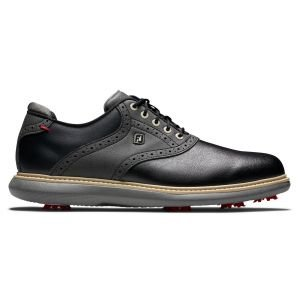 FootJoy Traditions Golf Shoes Black/Black