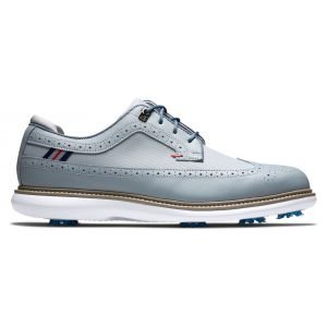 FootJoy Traditions Golf Shoes Grey/Navy/Red