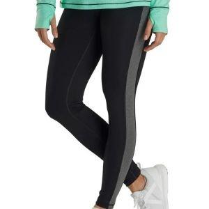 FootJoy Womens Ankle Length Golf Leggings - Black/Black Space Dye