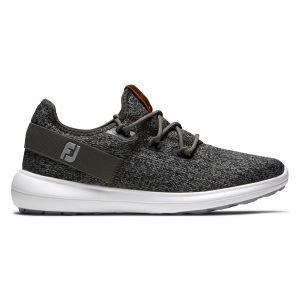 FootJoy Womens Coastal Flex Golf Shoes 2020 - Black/Charcoal 95751