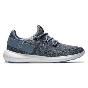 FootJoy Womens Coastal Flex Golf Shoes 2020 - Blue/Black 95752