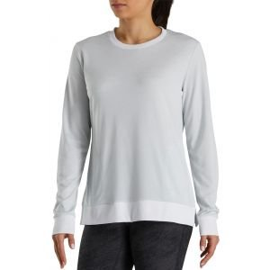 FootJoy Womens Crew Neck Golf Sweatshirt